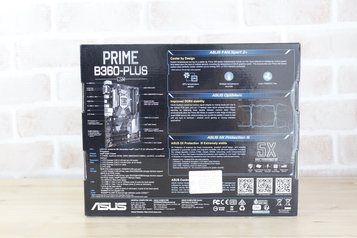 ASUS PRIME B360 PLUS 4