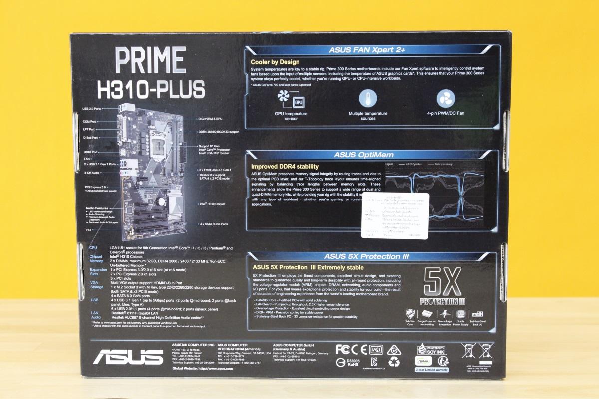 ASUS Prime H310 3