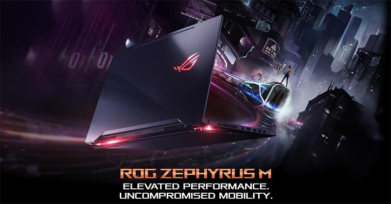 ASUS Zephyrus M GM501 top