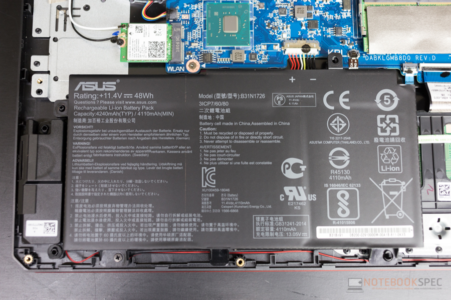Review - ASUS TUF Gaming FX504 Gaming Notebook: i5-8300H +