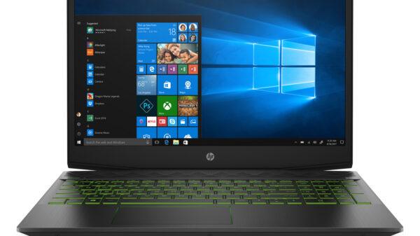 csm HP Pavilion Gaming Laptop Front ShadowBlack AcidGreen dce9537d8f