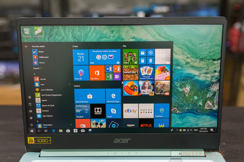 Acer Swift 1 Review 13