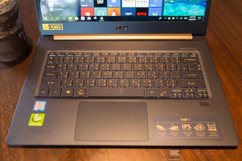 Acer Swift 5 2018 Review 5
