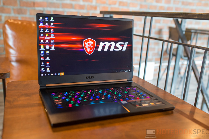 MSI GS65 8RE Review 4