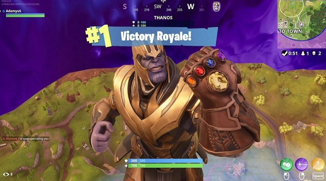 "Game Tips – เจาะข้อมูล Fornite โหมด ""Infinity Gauntlet"" หาถุงมือเกรียนจากที่ไหนและรายละเอียดของ Thanos"