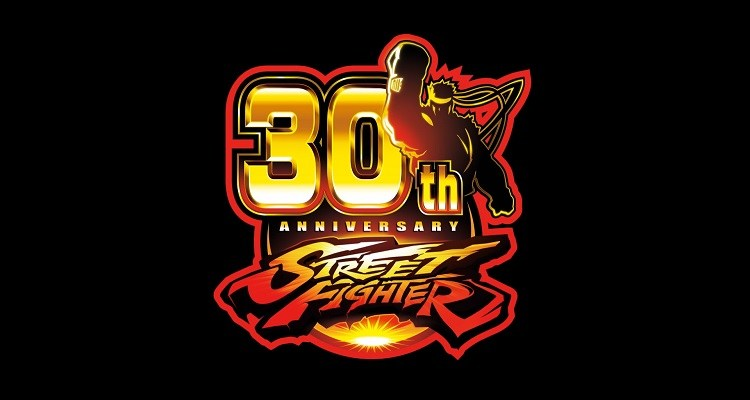sf street fighter capcom 30th anniversary logo