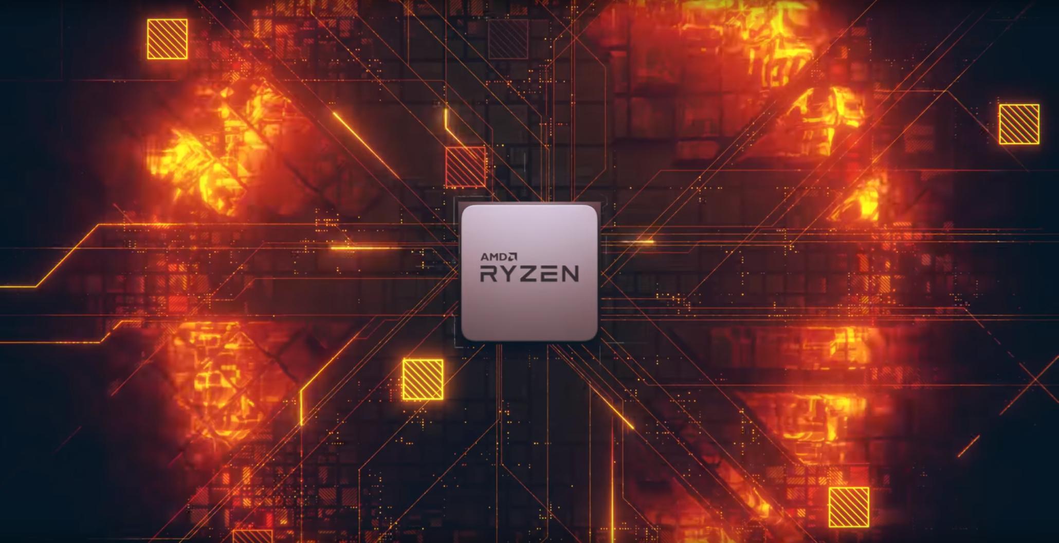 AMD Ryzen 2nd Gen 8