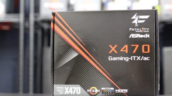 ASRock X470 Gaming ITX 1