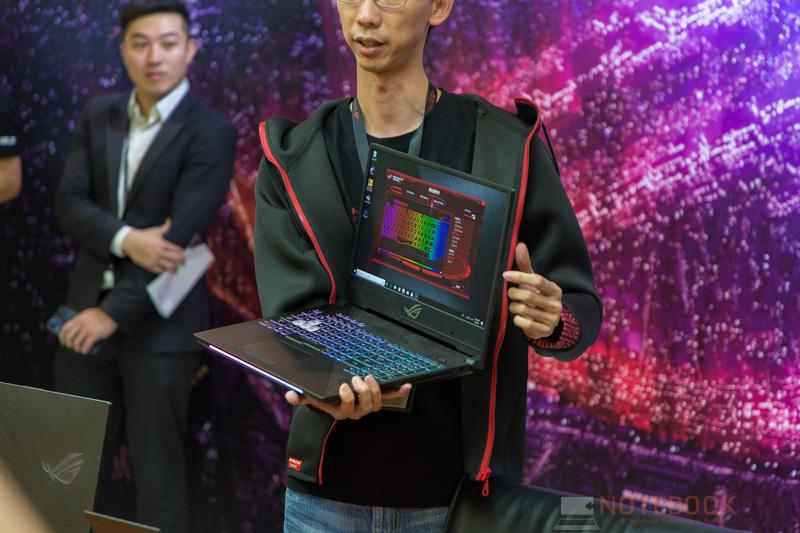 ASUS ROG GL504 Preview Computex 2018 6