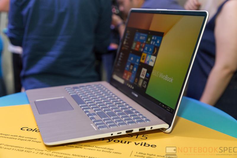 ASUS VivoBook S Preview Computec 2018 53