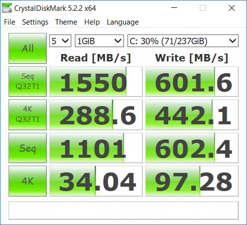Acer Helios 300 144 Hz ssd