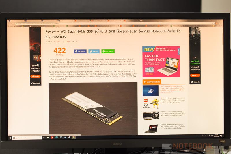 BENQ EL2870U HDR Monitor UHD 4K top Review 89