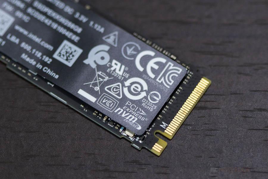 INTEL SSD NVME 256GB 6