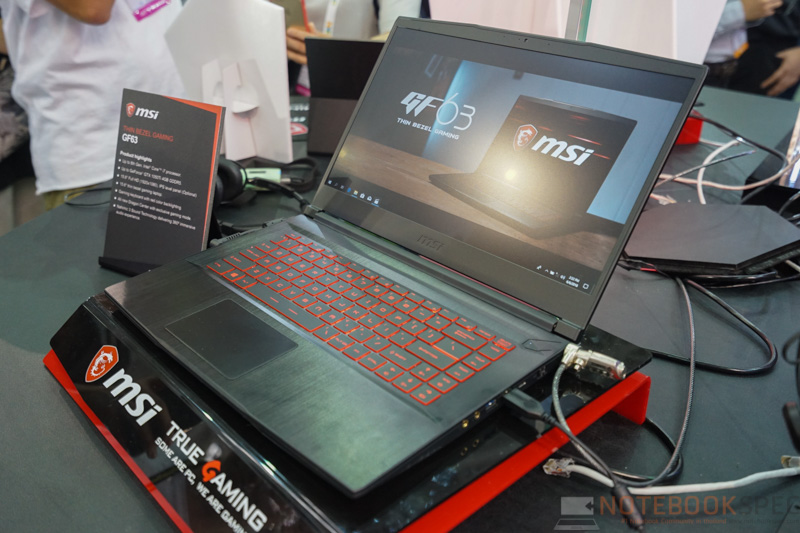 MSI GF63 Gaming Notebook Preview 10
