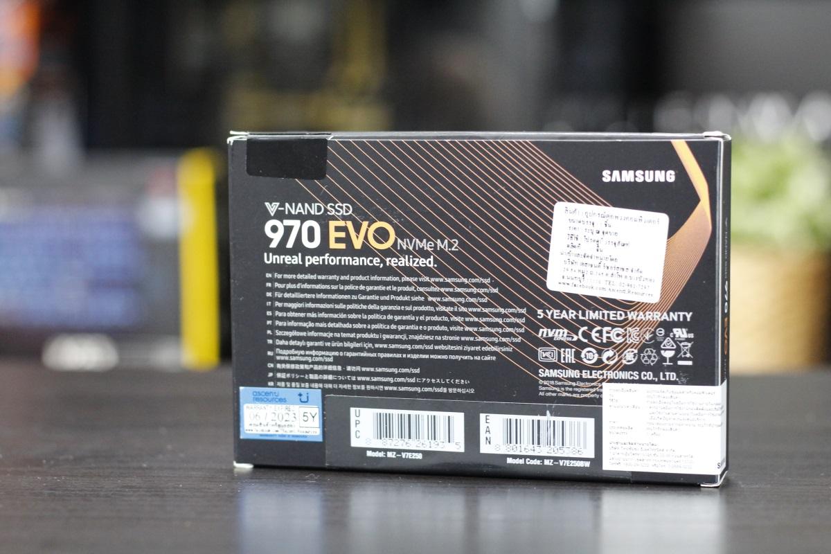 Samsung 970 Evo 3