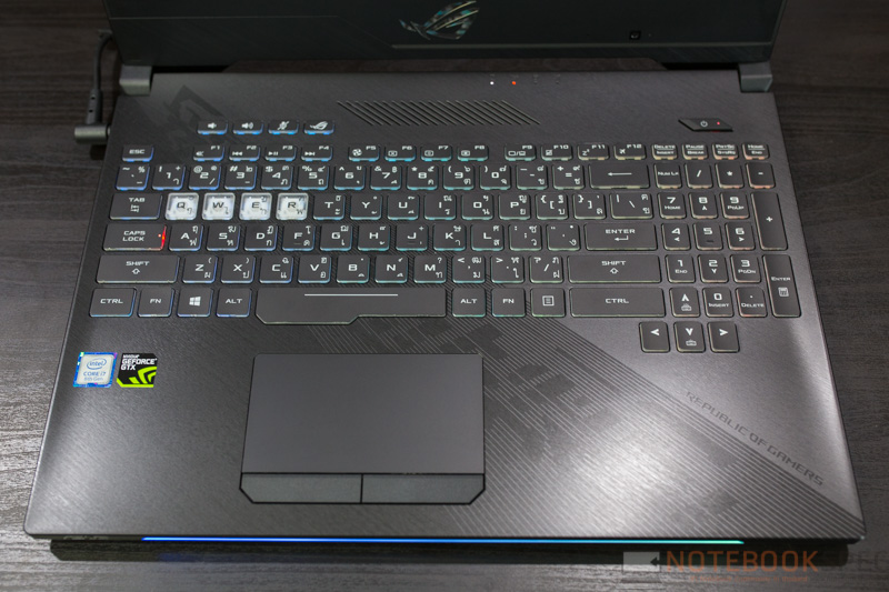 ASUS ROG Strix GL504 Hero II Edition Review 16