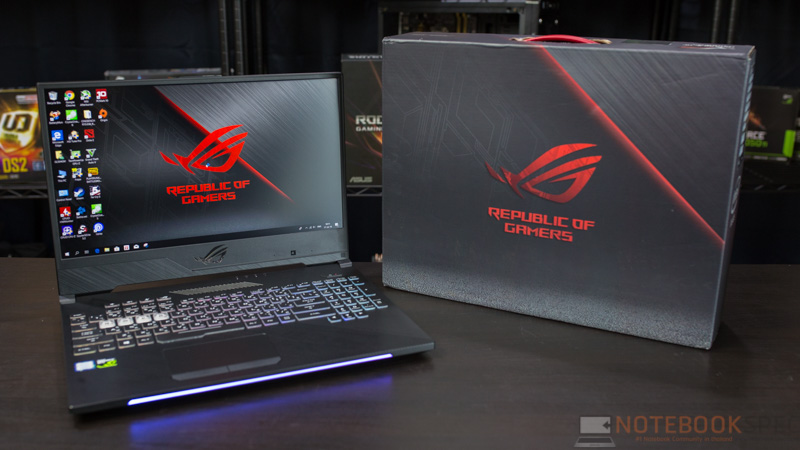 ASUS ROG Strix GL504 Hero II Edition Review 99
