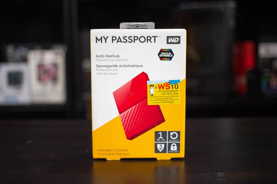 My Passsport WD 1