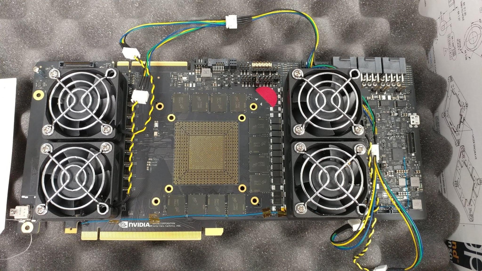 NVIDIA GeForce Next Gen Prototype Board