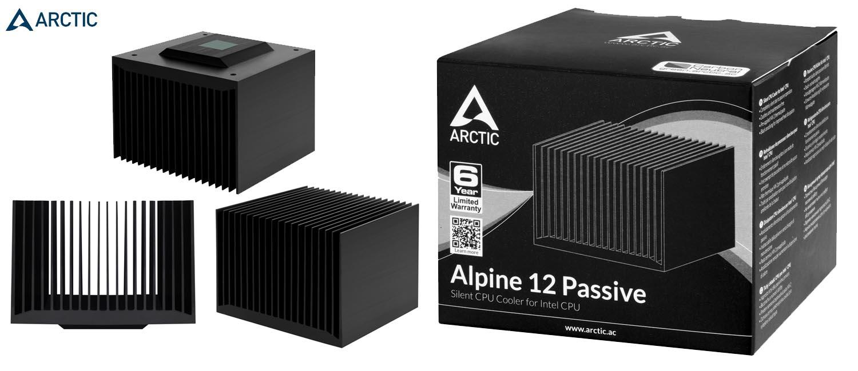 arctic alpine 12 passive intel