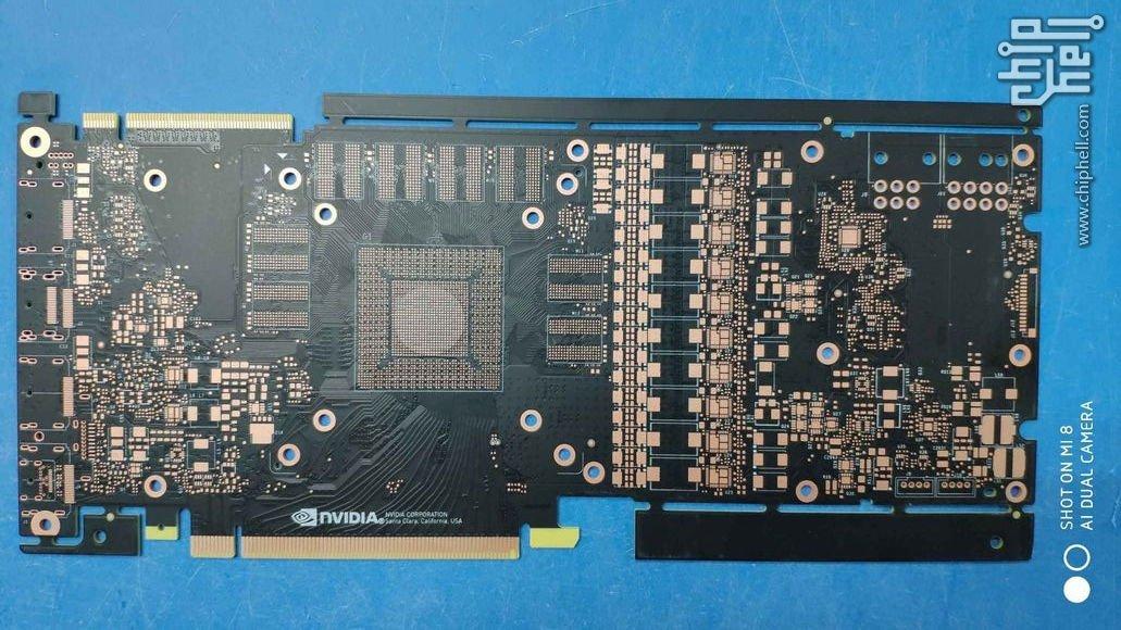 62687 06 nvidia geforce gtx 1180 pcb more power new sli finger full