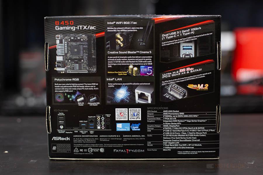 B450 Gaming ITX 2