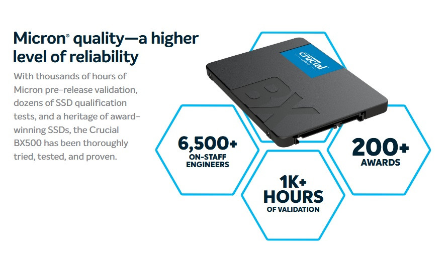 Crucial BX SSD 2