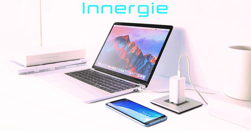 Innergie's new PowerGear™ 60C USB C Laptop Adapter the world's smallest adapter p1