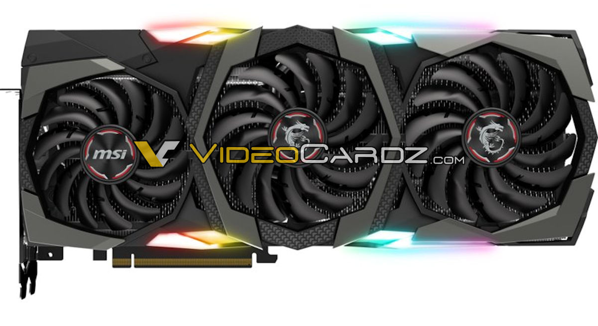 MSI GeForce RTX 2080 GAMING X TRIO front