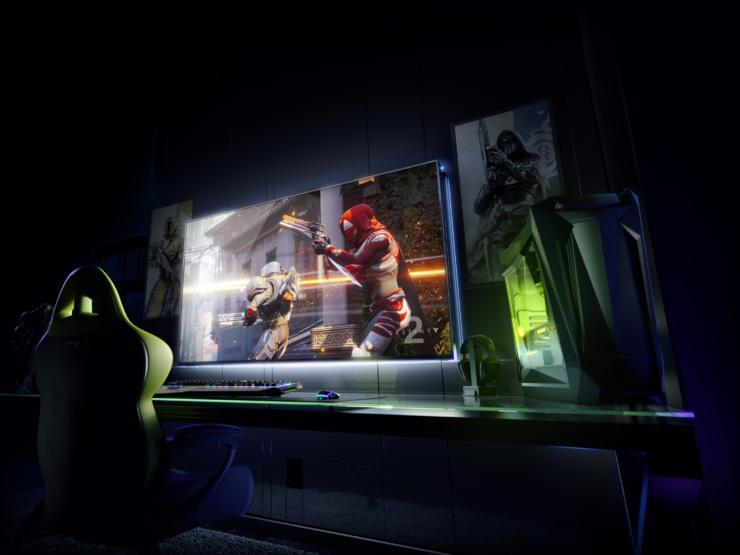 NVIDIA BFGD Gaming Monitors 6