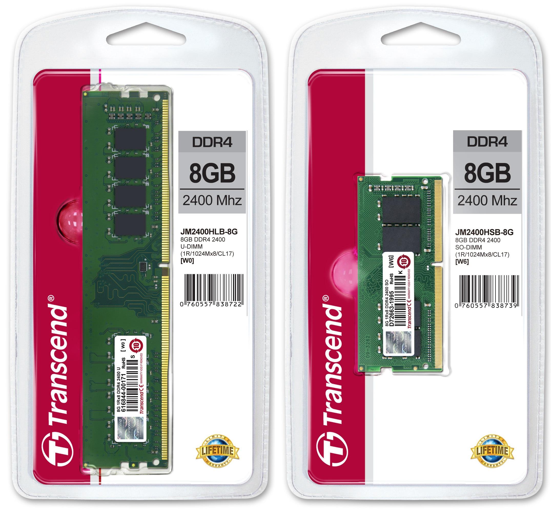 Pic DDR4 JM2400HLB 8G