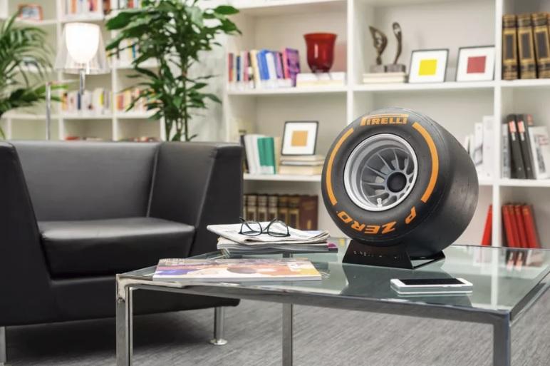 Pirelli made a tire shaped Bluetooth speaker 600 01