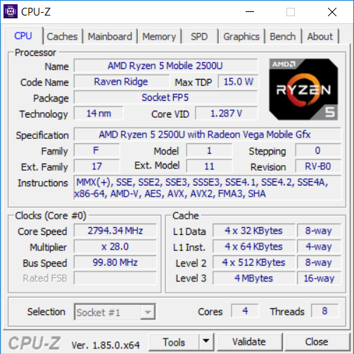 acer nitro 5 amd CPU1
