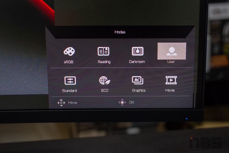 Acer ED323QUR mode 1