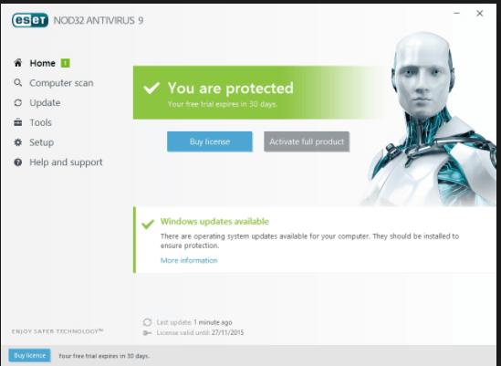 Download ESET NOD32 AntiVirus 64 bit 11.0.154.0