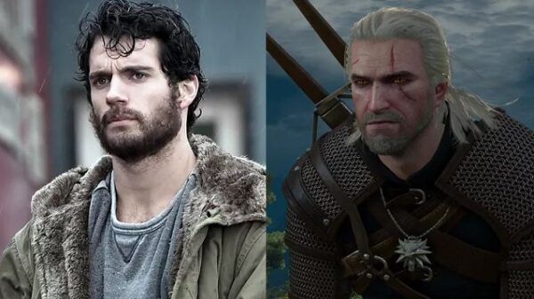 Henry cavill The witcher3
