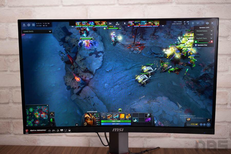 MSI Optix MAG24C curved gaming monitor 20