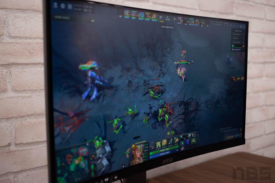 MSI Optix MAG24C curved gaming monitor 24