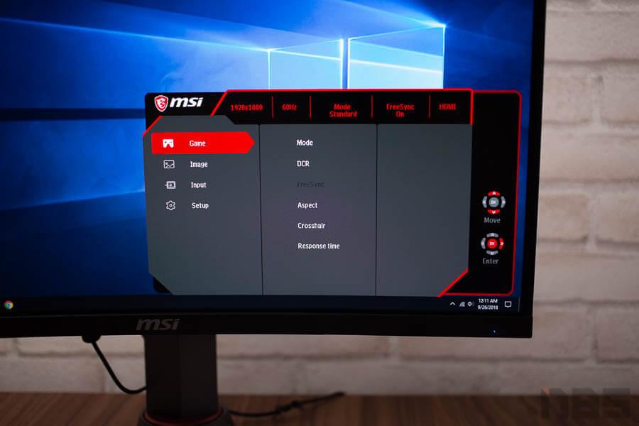 MSI Optix MAG24C curved gaming monitor 34