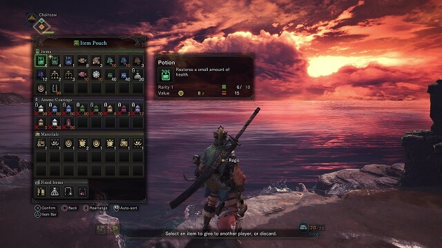 Game Tips – เปิดลิสต์รายชื่อไอเท็มจำเป็นที่ควรติดตัวไว้ใน Monster Hunter World มีไว้ใช้อุ่นใจแน่นอน