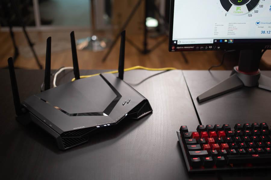 NightHawk Progaming XR 500 Gaming Rounter net Gear 15