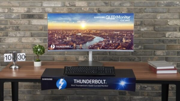 Thunderbolt3 Curved Monitor main 1