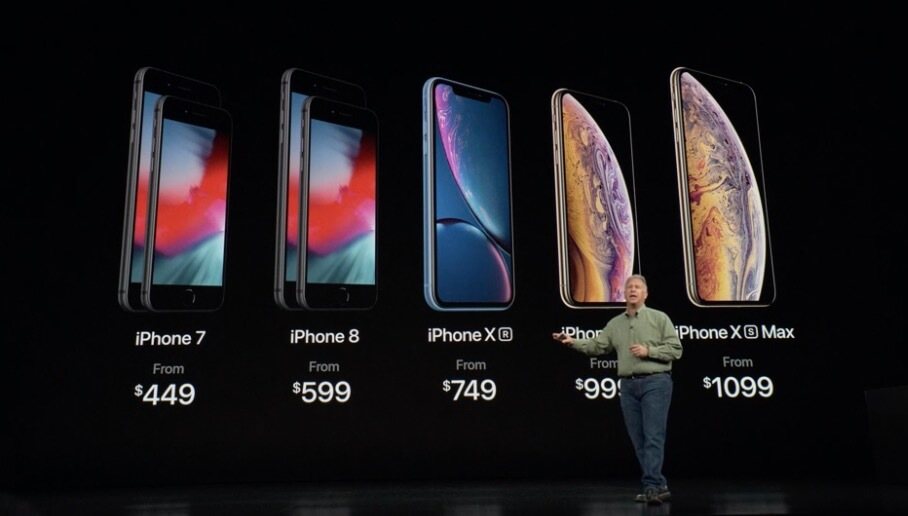 iPhone Xs max xr price