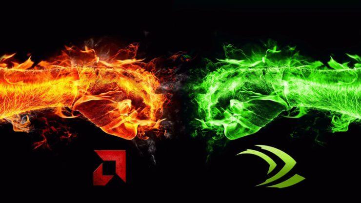 nvidia vs AMD 1