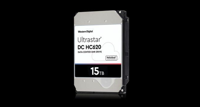 181106 western digital Ultrastar DC HC620 SMR 15TB