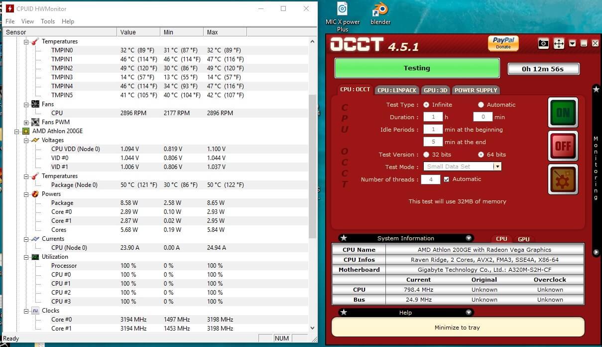AMD Athlon 200GE 17