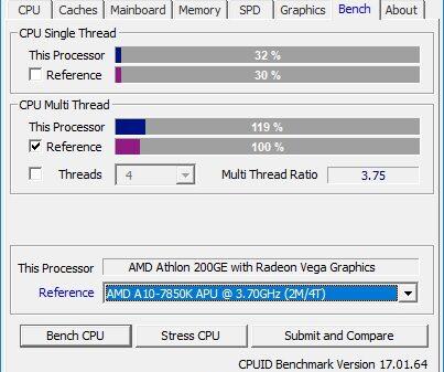 AMD Athlon 200GE 4