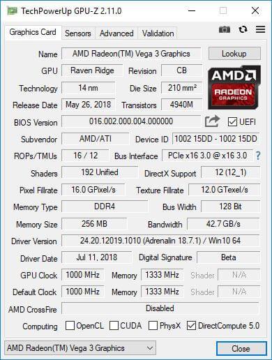 AMD Athlon 200GE 5