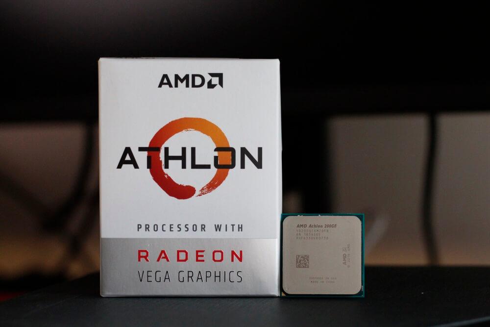 AMD Athlon 200GE pack 11