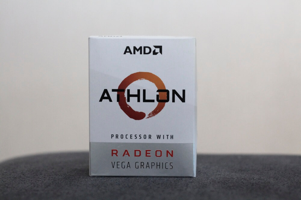 AMD Athlon 200GE pack 4